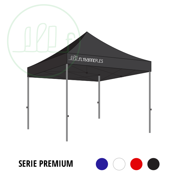carpa plegable premium 3x3