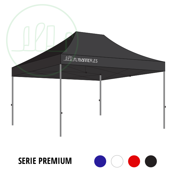 carpa plegable premium 3x4-5