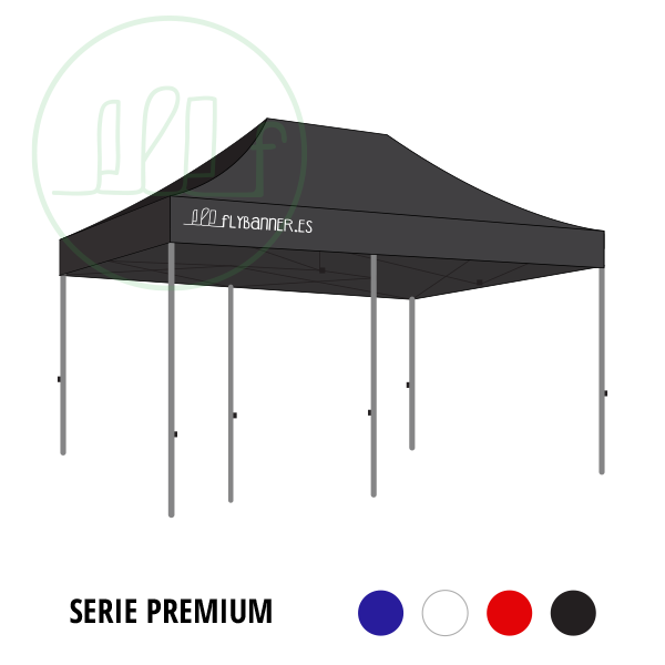 carpa plegable premium 3x6