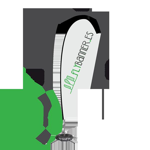 fly banner lagrima 5m medidas