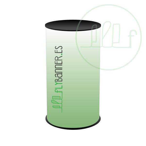 mostrador cilindro