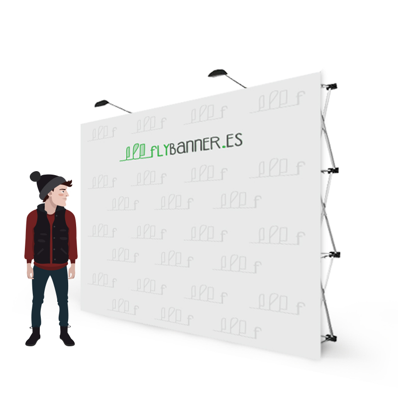 photocall textil 3x3