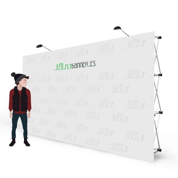 photocall textil 6x3