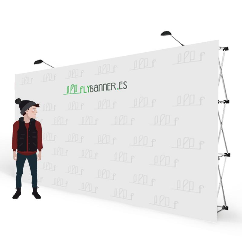 photocall textil 7x3