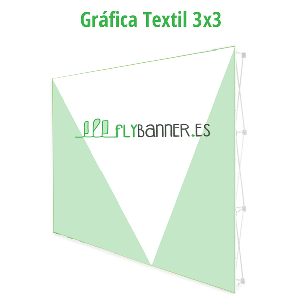 grafica textil 3x3 photocall