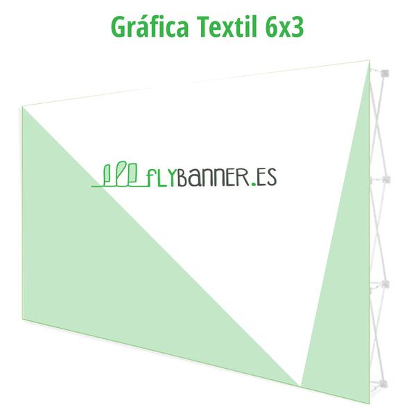 grafica photocall textil 6x3
