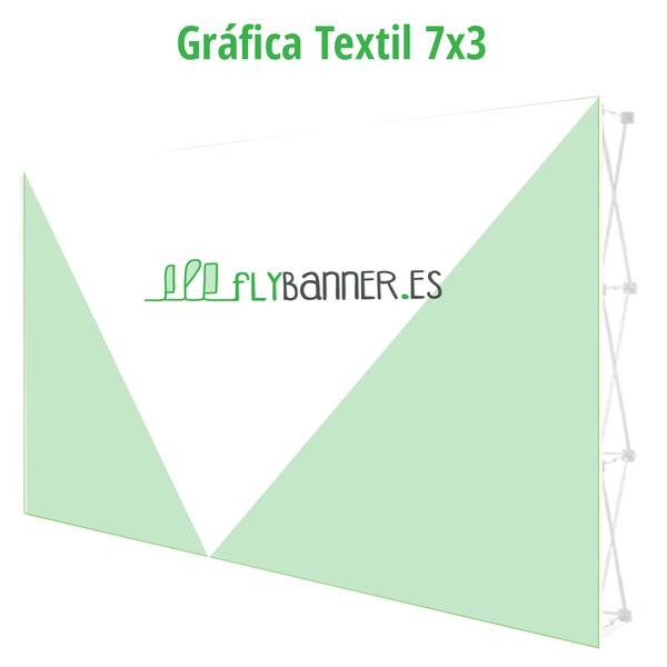 grafica photocall textil 7x3
